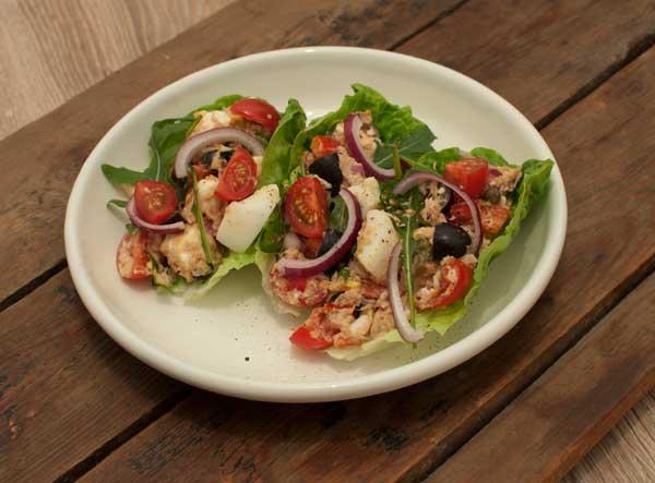 Griekse tonijnsalade