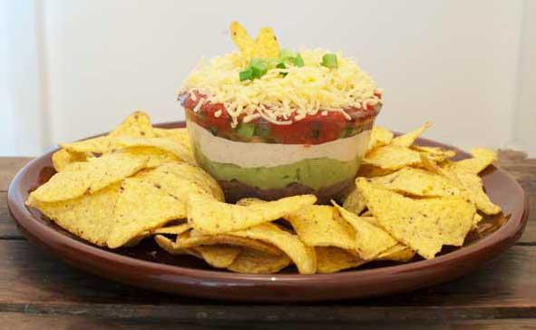 Mexicaanse nacho dip