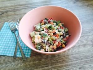 mediterrane vakantie salade