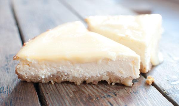 Limocello cheesecake