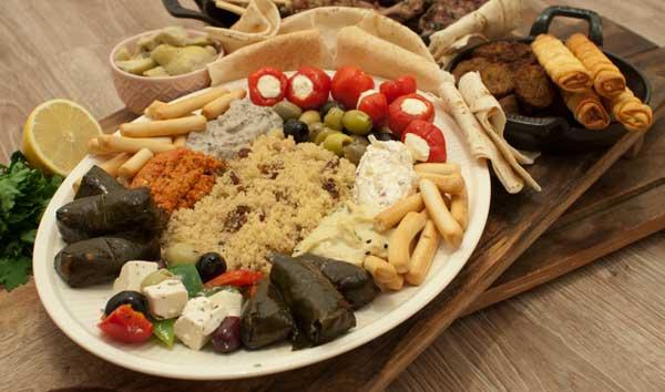 Arabische mezze