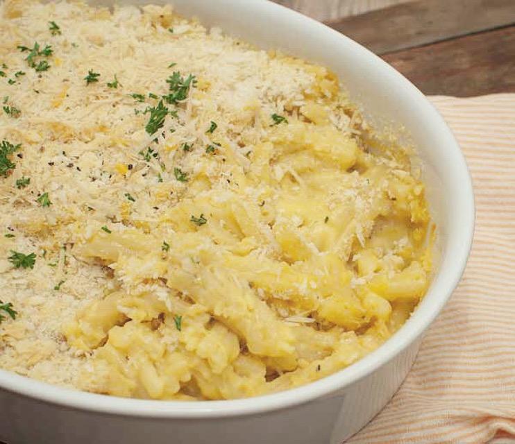 Mac & cheese met truffel