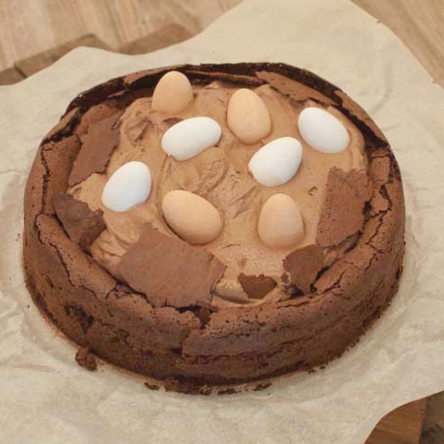 Glutenvrije paastaart met chocola