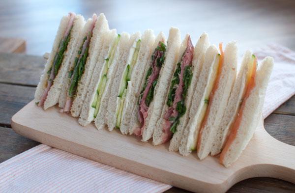 eenvoudige sandwiches maken