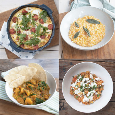 10 vegetarische recepten