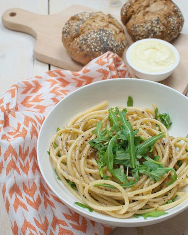Toscaanse pasta met pecorino en peper