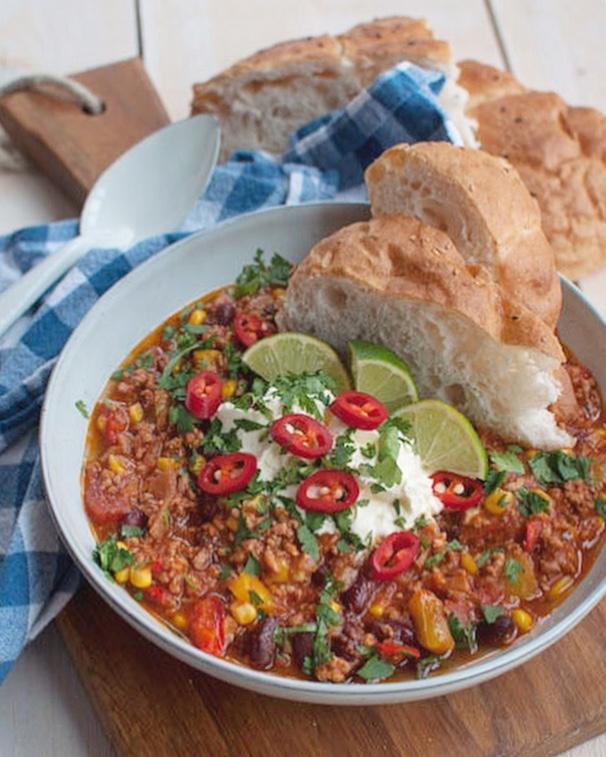 Chili con carne met chorizo