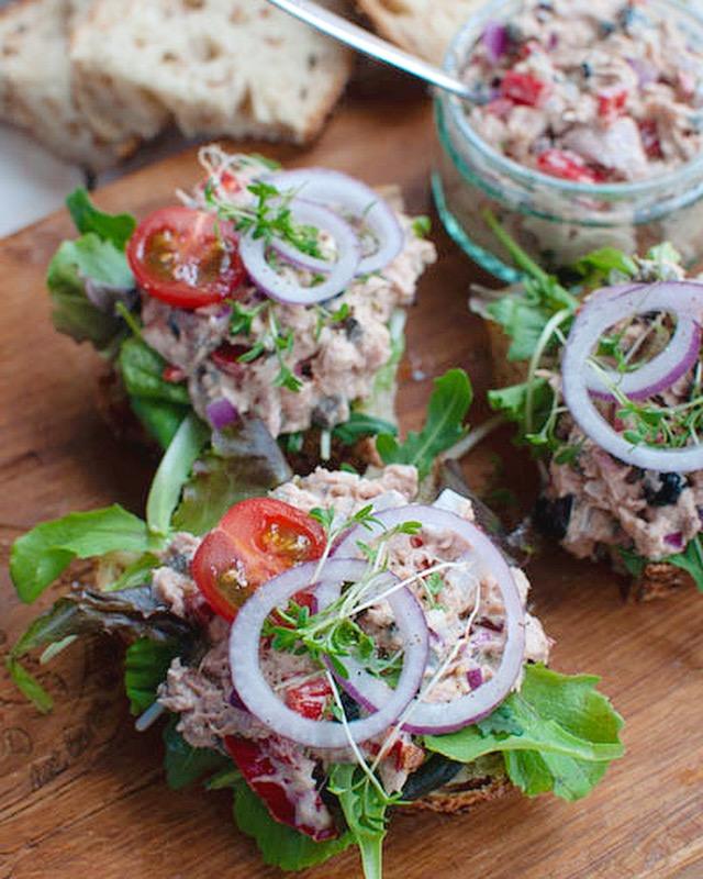 De lekkerste tonijnsalade voor op brood