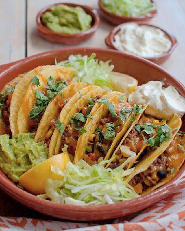 Mexicaanse taco's met gehakt