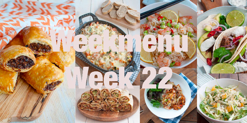 Weekmenu week 22