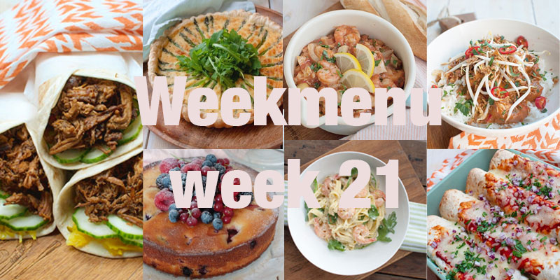 Weekmenu week 21