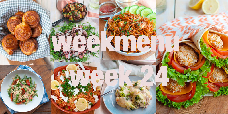 Weekmenu week 24