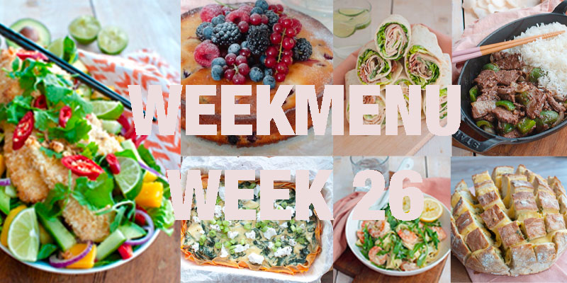 weekmenu week 26