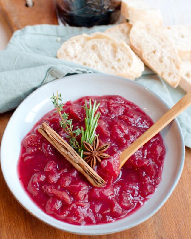 Zelf cranberrychutney maken