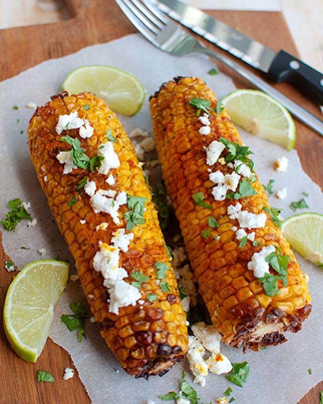 Mexicaanse maïskolven
