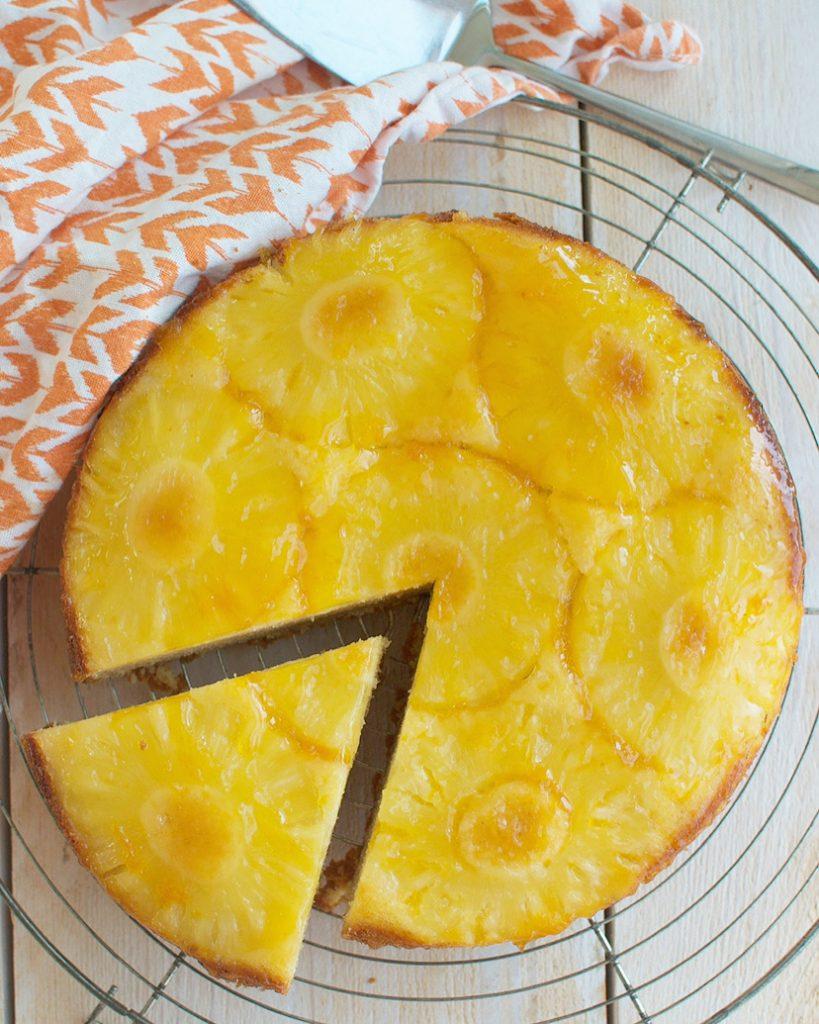 Omgekeerde ananascake