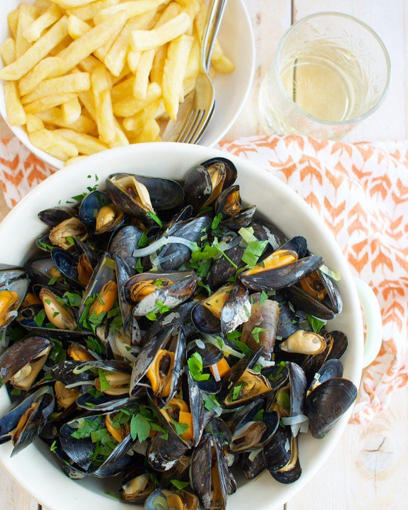 Zeeuwse mosselen met friet